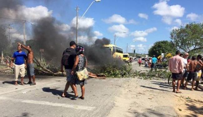 Indígenas interditaram rodovia por cerca de 4 horas - Foto: Divulgação l Internauta Radar 64
