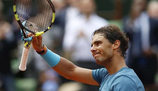 O tenista espanhol deixou o Aberto da França por conta de uma lesão no pulso esquerdo - Foto: Pascal Rossignol l Reuters