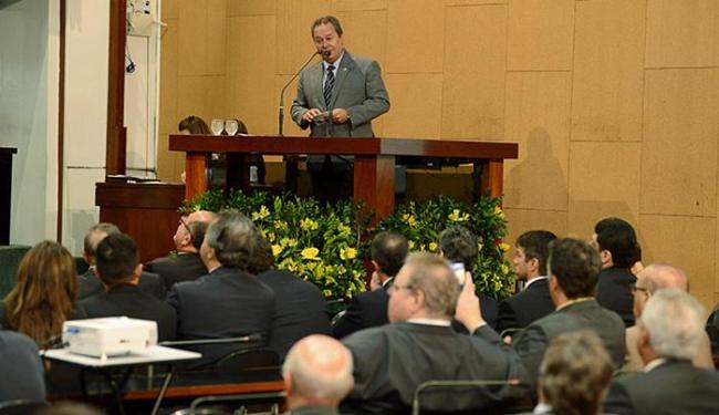 Alban disse que a indústria precisa de suporte do Legislativo para a resolução de seus problemas - Foto: Valter Pontes l Coperphoto l Sistema Fieb