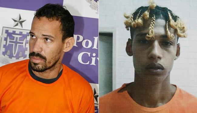 Ricardo dirigiu o caro usado no crime; Cláudio foi autor do disparo e foi preso 4 dias após o crime - Foto: Luciano da Matta l Ag A TARDE