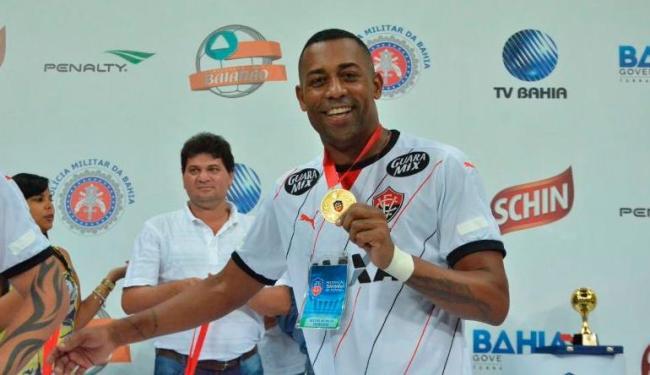 O atacante marcou apenas três gols desde quando chegou ao Leão em junho de 2015 - Foto: Francisco Galvão | E.C.Vitória
