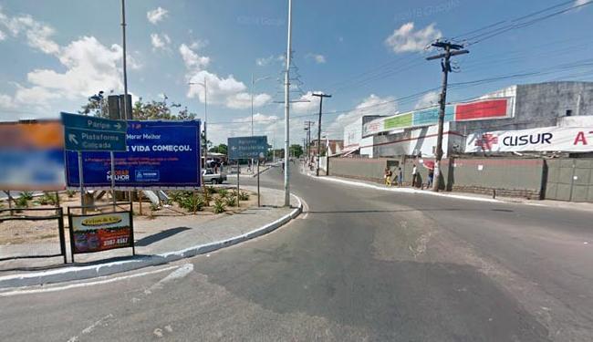 O bloqueio será realizado por causa das obras de requalificação na região - Foto: Reprodução | Google Street View