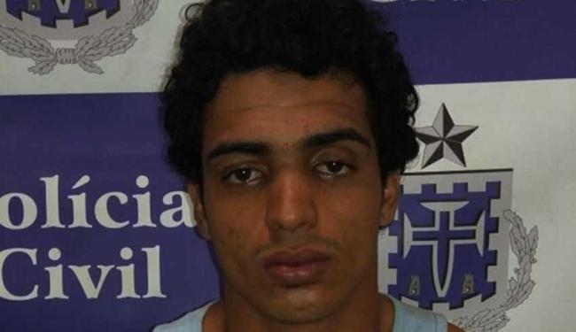 Em janeiro Gustavo foi preso com três carros roubado - Foto: Divulgação | Polícia Civil