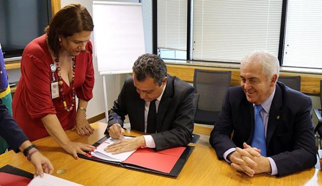 Governador comemorou a liberação dos recursos - Foto: Mariana Ceratti l Banco Mundial l Divulgação