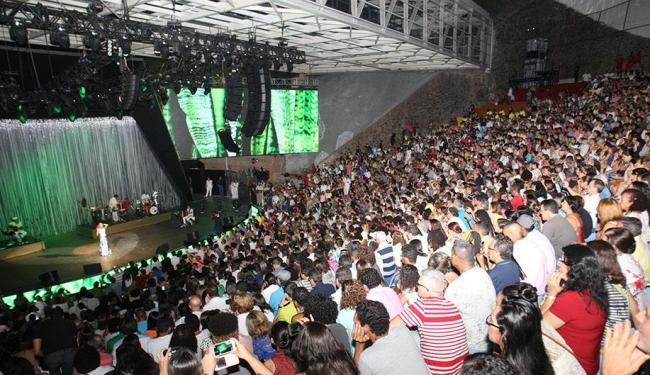 Na primeira noite do festival o público conferiu o show de Maria Bethânia - Foto: Margarida Neide I Agência A tarde