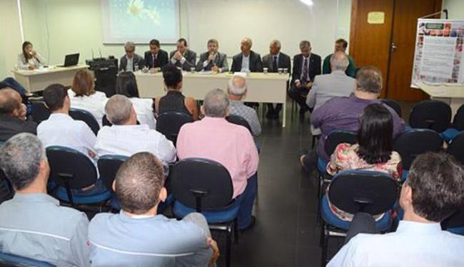 Evento reuniu secretários do município, dirigente da Fieb e empreendedores - Foto: Aristeu Chagas l Secom de Camaçari