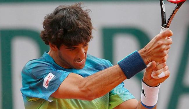 Melhor tenista do país, Bellucci deu adeus ao torneio francês - Foto: Pascal Rossignol l Reuters