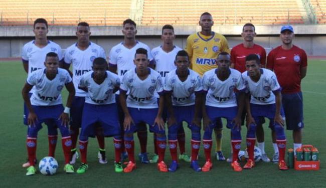A última vez que um time de base deixou o país para uma competição internacional foi há 3 anos - Foto: Divulgação   E.C.Bahia