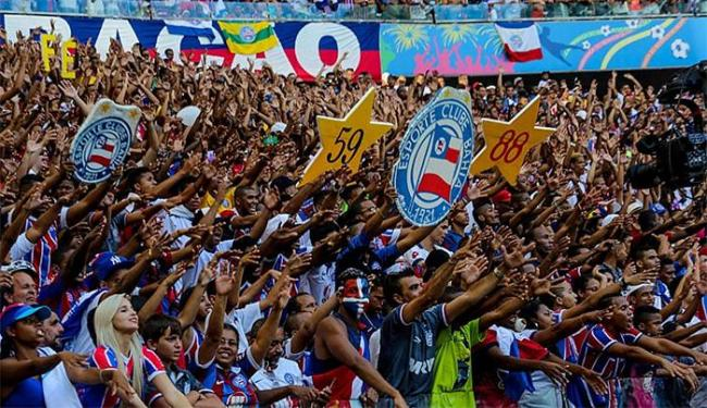 Entradas estão disponíveis para os torcedores do Tricolor - Foto: Divulgação l Itaipava Arena Fonte Nova
