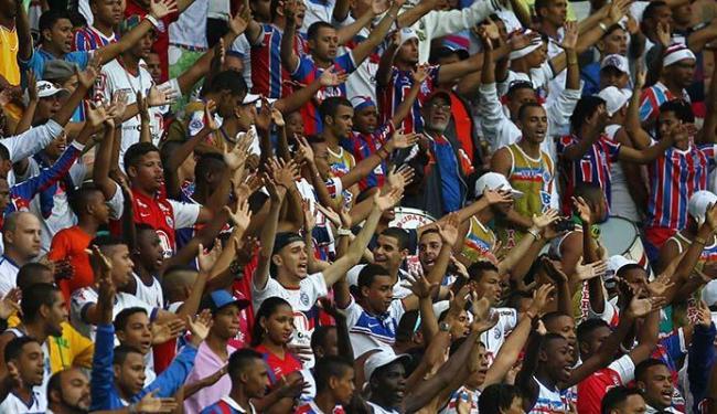 Bahia enfrenta o Vitória, pelo jogo de volta do Campeonato Baiano, no domingo, 8, às 16h, na Fonte - Foto: Eduardo Martins | Ag. A TARDE 27.06.2015