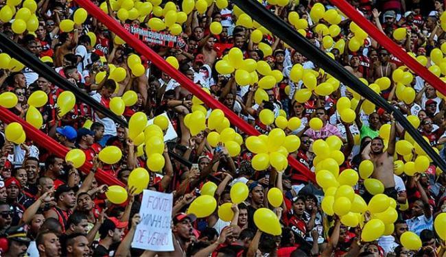 A torcida rubro-negra irá ocupar 10% das arquibancadas - Foto: Divulgação l Itaipava Arena Fonte Nova