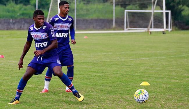 Repleto de desfalques, meio-campo do Tricolor para esta 4ª tem apenas Feijão como titular garantido - Foto: Felipe Oliveira l EC Bahia