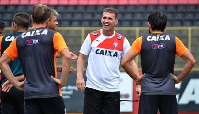Elenco do Rubro-Negro voltou aos treinos visando jogo desta quarta-feira, 25 - Foto: Francisco Galvão l EC Vitória