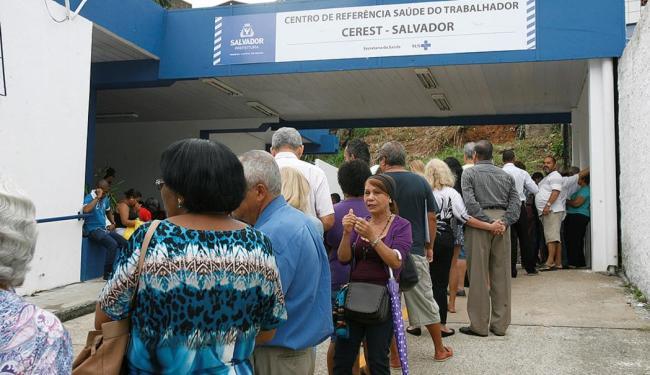 Em Salvador, cerca de 598 mil pessoas foram vacinadas em menos de 20 dias, segundo a SMS - Foto: Luciano da Matta l Ag. A TARDE