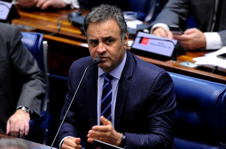 Aécio Neves foi citado na delação de Benedicto Júnior, ex-presidente da Odebrecht Infraestrutura - Foto: Pedro França| Agência Senado