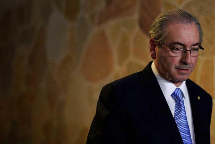 Cunha é réu da Operação Lava Jato sob acusação de corrupção, lavagem de dinheiro e evasão de divisas - Foto: Ueslei Marcelino | Reuters