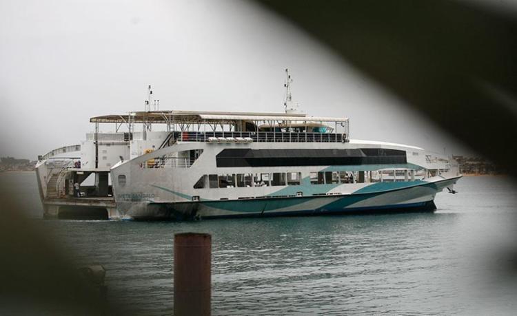 Ferry está operando com frota máxima nesta sexta - Foto: Raul Spinassé | Ag. A TARDE