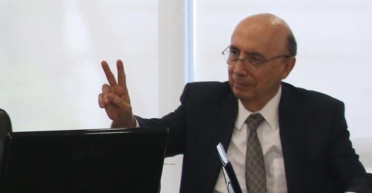 Henrique Meirelles disse que só fala em candidatura à Presidência em março - Foto: Fábio Rodrigues Pozzebom | Ag. Brasil