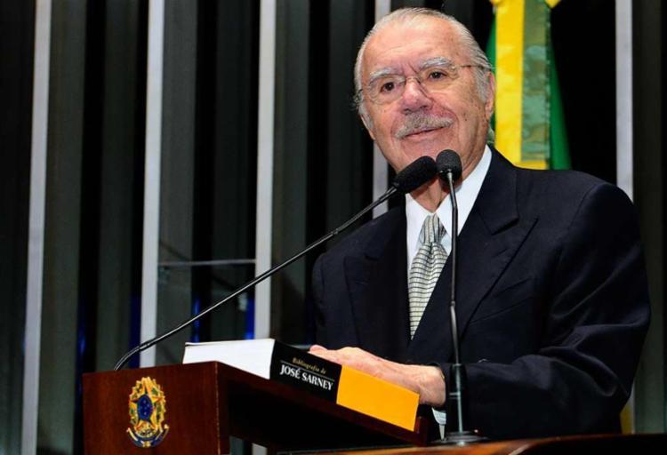 O advogado que defende Sarney afirmou que o ex-senador não se lembra da varredura - Foto: Waldemir Barreto | Agência Senado | Arquivo