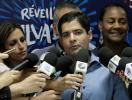 ACM Neto durante coletiva que divulgou as atrações do Réveillon de Salvador - Foto: