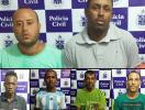 Nove suspeitos de tráfico são presos em Morro de São Paulo - Foto: Ascom   Polícia Civil