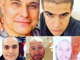 Além do filho Enzo, os sobrinhos Ciro, Vitor e Tiago publicaram fotos - Foto: Reprodução