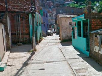 Crime aconteceu na rua Onze de Fevereiro, segundo a polícia - Foto: Reprodução | Google Street View