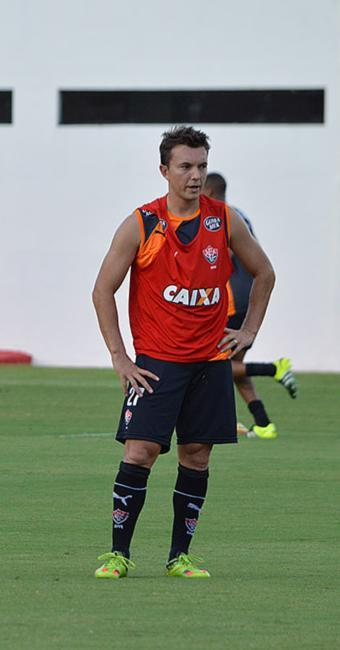 Dagol fará sua primeira partida nesta Série A como titular - Foto: Francisco Galvão l EC Vitória