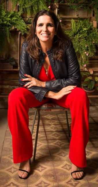 Malu Mader interpreta Rebeca no folhetim - Foto: Ramon Vasconcelos | TV Globo