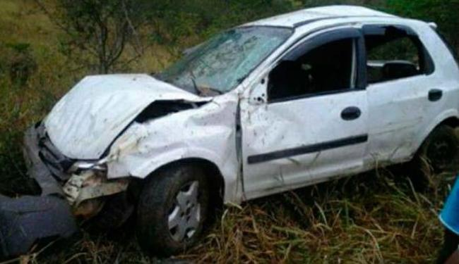 Acidente ocorreu, por volta das 6h, no povoado de Jenipapo, em Ubairá - Foto: Reprodução   Site Binho Locutor