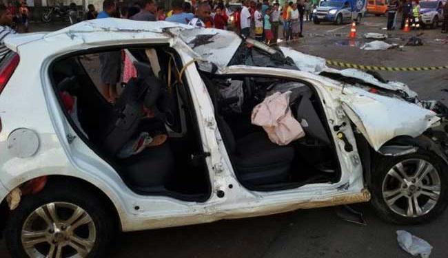 Acidente aconteceu no sentido Salvador / Feira - Foto: Cidadão Repórter | Whatsapp
