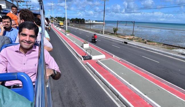 ACM Neto participou da entrega da nova avenida Suburbana - Foto: Max Haack | Agecom Salvador