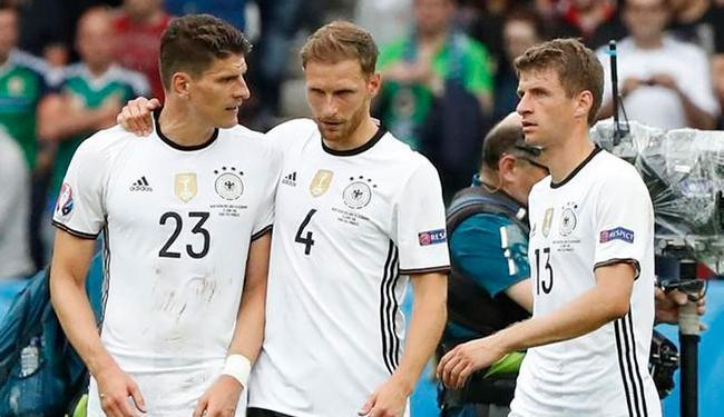 Alemanha se classifica para o mata-mata após duas vitórias e um empate na fase de grupos - Foto: Christian Hartmann | Ag. Reuters