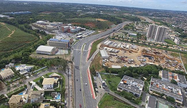 Duplicada, a via tem cerca de 3,5 km, e liga a orla de Piatã à avenida Paralela - Foto: Andréa Magnoni l Secom Gov-BA