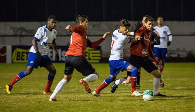 Bahia voltou a decepcionar a torcida - Foto: Luiz Carlos Erbes | Agência Free Lancer | Estadão Conteúdo