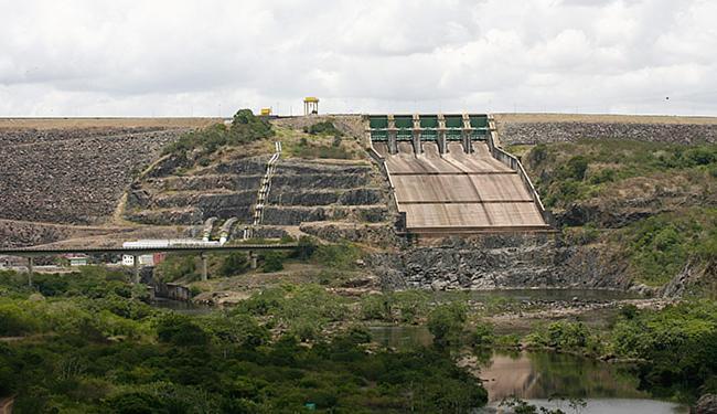 A barragem de Pedra do Cavalo abastece a região metropolitana de Salvador - Foto: Marco Aurélio Martins l A TARDE l 22.1.2015