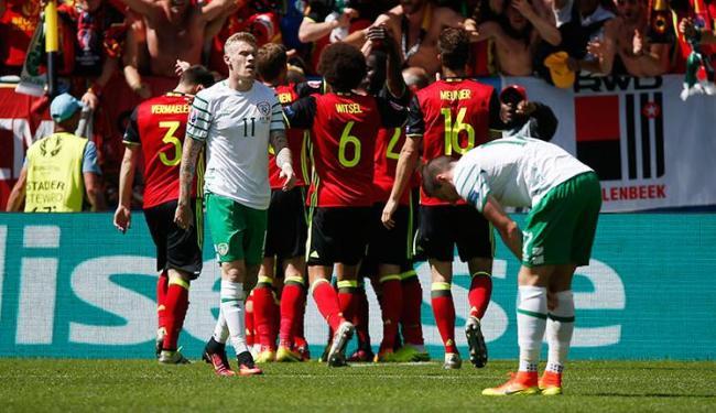 Com a vitória, a Bélgica somou os primeiros três pontos no Grupo E - Foto: Sergio Perez Livepic | Ag. Reuters