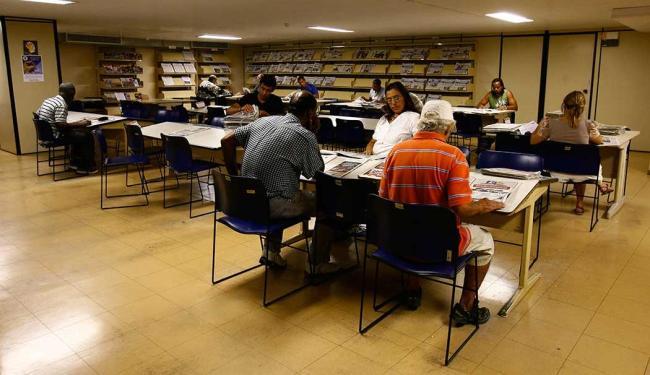 Biblioteca estava fechada desde o dia 10 de junho - Foto: Mila Cordeiro | Ag. A TARDE