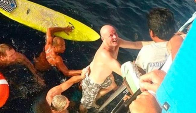 Brett caiu de barco durante tempestade - Foto: Divulgação