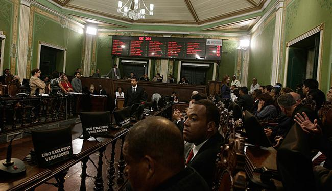 A votação do plano foi global na sessão que durou três horas - Foto: Joa Souza/ Ag. A TARDE