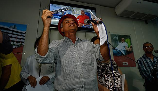 O cordelista Antônio Barreto foi um dos vencedores - Foto: Lucas Melo l Ag. A TARDE
