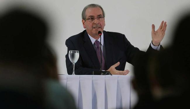 Cunha lembrou sua trajetória política e a sua posição em relação ao PT - Foto: Adriano Machado   Agência Reuters