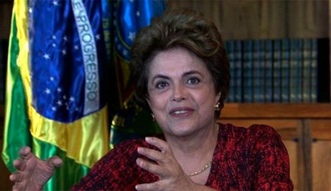Dilma disse que é a população que tem que dizer se quer a continuidade de seu governo - Foto: Agência Brasil