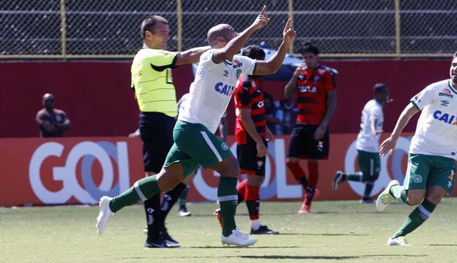 Sérgio Manoel vibra com gol marcado contra o Vitória - Foto: Margarida Neide | Ag. A TARDE