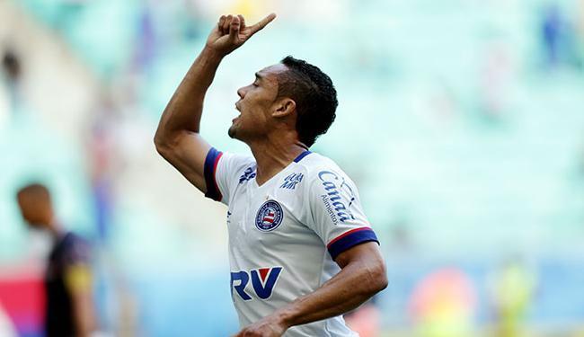 Edgar Junio ainda se recupera de lesão muscular - Foto: Raul Spinassé   Ag. A TARDE