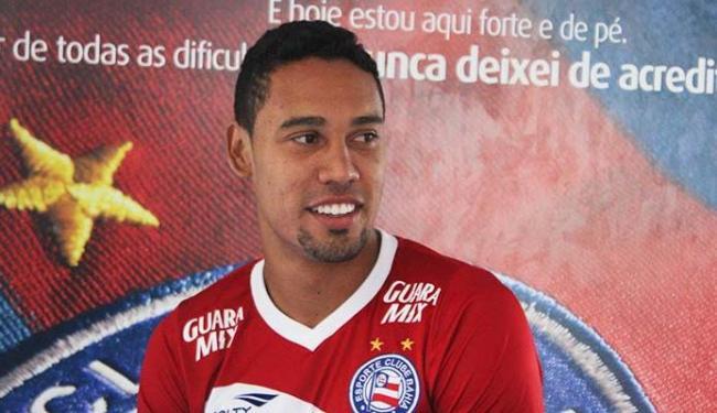 Jogador só participou de quatro partidas do tricolor na Série B - Foto: EC Bahia | Divulgação