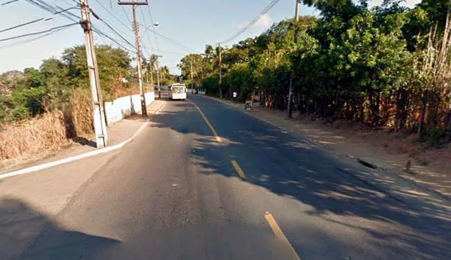 Crime aconteceu na Estrada do Coqueiro Grande - Foto: Reprodução | Google Street View