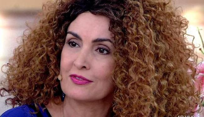 Apresentadora utilizou diversas perucas durante o programa - Foto: Divulgação
