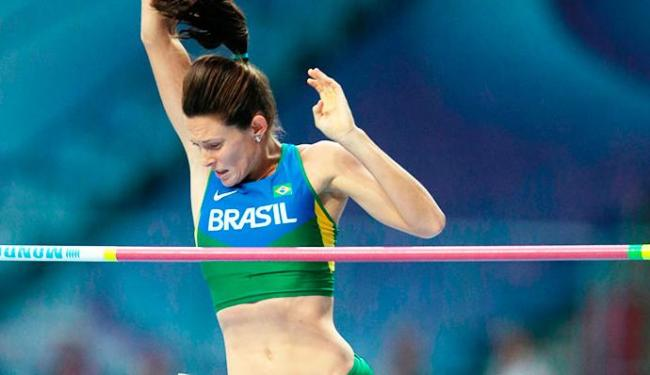 Fabiana Murer está apenas na 9ª colocação - Foto: Divulgação