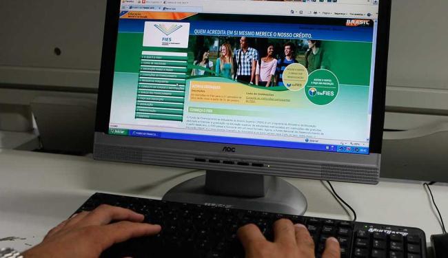 O Fies oferece financiamento de cursos superiores em instituições privadas - Foto: Margarida Neide | Ag. A TARDE
